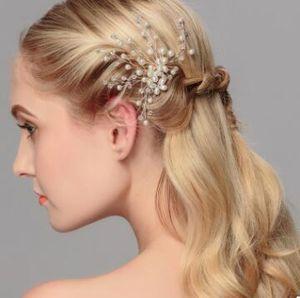 2017 bridal jewelry headdress hairpin wedding wedding accessories European and American fashion plate hair comb hair accessories
