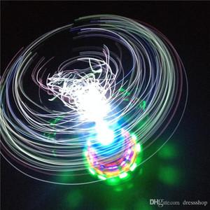 Sıcak Serin gyro aydınlık ışık yayan çocuk oyuncakları toptan Taç fiber optik ışıklar flaş müzik gyro Xuanliang
