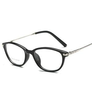 Wholesale-  TR90 Eyeglasses Women Eye Glasses Frame Spectacle Frame Glasses Myopia Eyeglasses Frames Women's Glasses Frames Eyewear