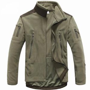 Homens Tactical clothing outono inverno fleece exército jaqueta softshell ao ar livre roupas de caça homens softshell estilo jaquetas
