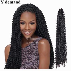 Havana Sénégalaise Twist Cheveux Synthétiques Crochet Tresses Extensions de Cheveux Freetress Crochet Boîte Tressage Cheveux Y demande