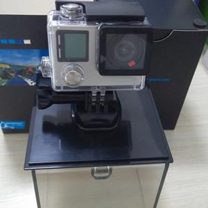 Caméra sport noire HERO4 non originale et accessoires avec carte SD de 16 Go Adaptateur de trépied pour GP Bundle WiFi Action Smart DV app