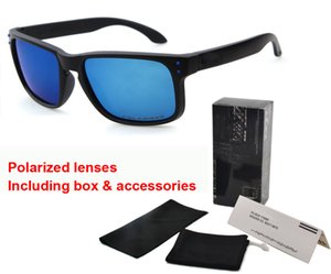 Designer de marca óculos polarizados homens mulheres new top versão óculos de sol tr90 uv400 lente óculos esportivos óculos de sol com caixa de varejo e saco