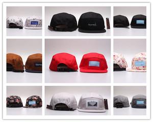 Envío gratuito Al por mayor-20 Estilo Cinco 5 paneles de diamante snapback caps hip hop sombreros planos para hombres casquette gorras planas hueso aba reta toca
