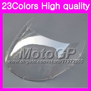 23Colors Windscreen For YAMAHA TZR-250 3MA TZR250 88 89 90 91 TZR 250 1988 1989 1990 1991 RR Chrome Black GPear Smoke Windshield