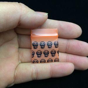 الصغيرة 2.5 * 3 CM 100 جهاز كمبيوتر شخصى / لوط منقوشة البسيطة واضح الأغلاق PE كيس من البلاستيك، كيس بولي مختومة الذاتي