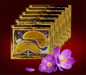 Collagen Crystal Eye Masks Anti-puffiness moisturizing Eye masks Anti-aging masks collagen gold powder eye mask A08