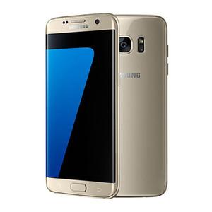 """مقفلة الأصلي سامسونج غالاكسي S7 حافة G935 4G LTE NFC الروبوت الهاتف المحمول الثماني النواة 5.5 """"12MP RAM 4GB ROM 32GB"""