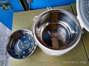 4L متعددة الوظائف طبخ الأرز YJ408J الأرز باخرة غير لاصقة الفولاذ المقاوم للصدأ وعاء شراء طنجرة الأرز الكهربائية أفضل تصنيف الصين باخرة الغذاء