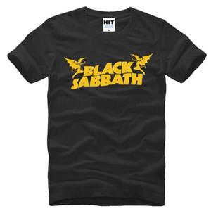 Лето классический металл Рок-Ролл группа Black Sabbath Майка мужская мода с коротким рукавом хлопок мужская хип-хоп футболки топы тройники