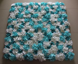 Новая искусственная роза и гортензия цветок на стену для украшения свадебной группы 10 шт / лот