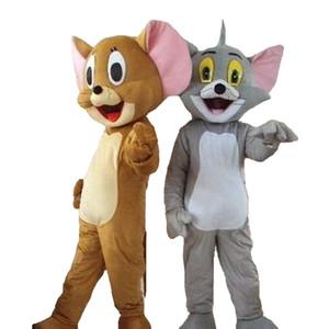 Tom et Jerry mascotte chat mascotte souris costume de mascotte taille adulte livraison gratuite