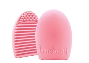 NewBrushegg Pro Egg Cleaning Glove Cleaning Makeup Washing Brush Silica Glove Scrubber Board Cosmetic Clean Tools Brush Cleaner
