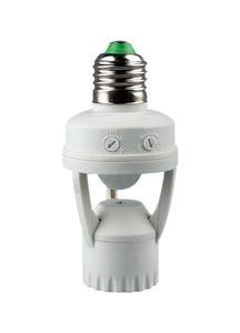 Ajustável de 360 Graus PIR Indução Sensor de Movimento Infravermelho IR E27 E27 B22 E14 Soquete Sensor Interruptor de Luz Base de Lâmpada Led Suporte Da Lâmpada de Luz