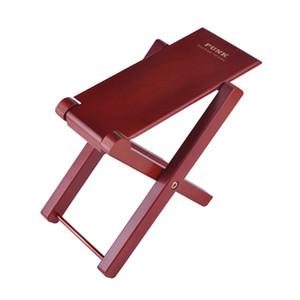 Гитарная деревянная педаль 4 Легко регулируемая высота Позиции Гитарная нога Профессиональная рукодельная рукоятка Педаль для педальной педали