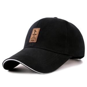 1Piece Baseballmütze Mens justierbare beiläufige Freizeit Hüte Solid Color Mode Snapback-Sommer-Hut Sports Caps Herbst