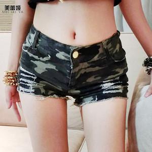 Venda por atacado - Denim Shorts nova chegada 2017 marca de moda feminina MEILEIYA calções de cintura alta Sexy Short jeans calças para senhoras e meninas sexy