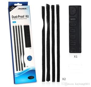 PS4 Pro DIY Dust-Kit Kit منع غطاء حقيبة جاك سدادة حزمة الغبار كيت لسوني بلاي ستيشن 4 برو PS4 Pro Gaming Console