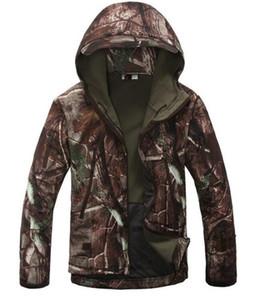 육군 위장 남자 코트 군사 전술 재킷 남자 방수 스포츠 용 재킷의 비옷 사냥 의류 남성 자켓 무료 배송