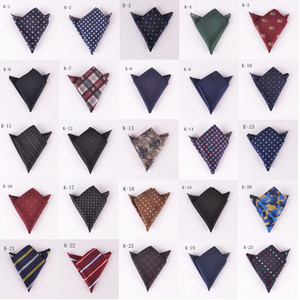 New cash pocket handkerchief fashion high-end dress small square wedding party handkerchief towel tie 61 colors wholesale DHL free