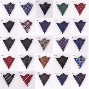 New cash pocket handkerchief fashion high-end dress small square wedding party handkerchief towel tie 61 colors wholesale DHL free