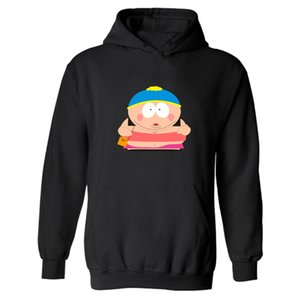Wholesale- 2021 Hooded Sale In Sweatshirts South Park Men Punk Hot Streetswear Funny Eric Cartman And Mens Hoodies American Sitcoms Hoo Lkjc
