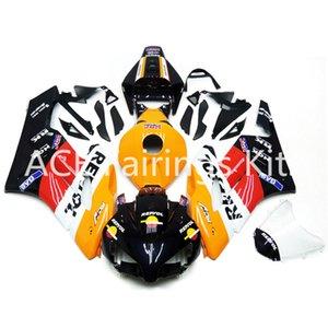 3 gift new For Honda CBR1000RR 2004 2005 04 05 ABS Motorcycle Fairing Kit Bodywork Yellow black Classic beauty v52