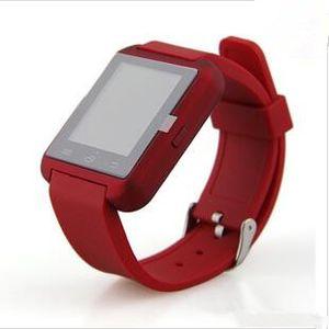 2016 Bluetooth Smartwatch U8 U Reloj Reloj Inteligente Relojes de Pulsera para iPhone 4 4S 5 5S Samsung s7 HTC Android teléfono Smartphone