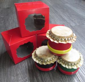 China mini lion dance drum Children lion drum toys Household restaurant bar decoration craft 039