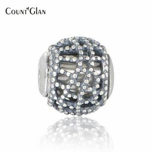 Bracciale Essence Happiness Beads Fit Pan Charm Essence Only Only NUOVI Charms in argento 925 con foro piccolo per la realizzazione di gioielli fai da te