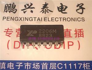 2206M. XR-2206M, pacote cerâmico duplo dip 16 pinos, Monolítico Função Gerador Componente eletrônico. XR2206M / CDIP16 / IC integrado