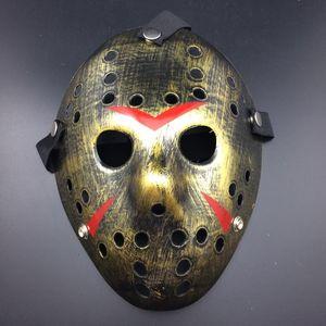 DHL! Hot Halloween maske Neue Jason Cosplay masken Kostüm party Horror lustige maske Halloween Mörder Maske