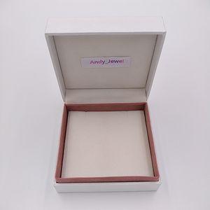 Bijoux Box Emballage 5 * 5 * 4cm pour Pandora style bracelet de perles bijoux Charms Boîte de bague bijoux cadeaux Vitrines Boîtes d'emballage