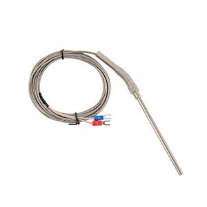Sensor de aço inoxidável da sonda de 2.7M / 8.8ft tipo K dos sensores 0-400C controlador de temperatura do par termoeléctrico
