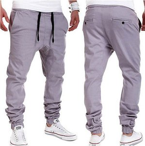 Atacado-outono varejo preço de fábrica por atacado! Mens Jogger Dança Sportwear Baggy Harem Pants Calças Casuais Calças Sweatpants EUA S M L