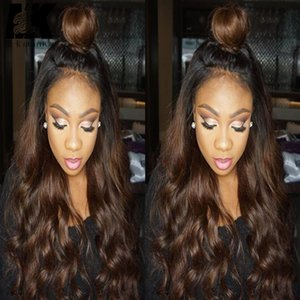 virgin hair fantasy Full Lace Human Hair Wigs For Black Women Brazilian Loose Curly Wave Lace Front Human Hair Wigs