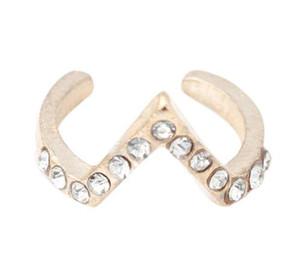 Ringe für Frauen 7pcs Beliebte MINI Midi Mid Finger-Spitze-Stacking-Hochzeit Ring Set