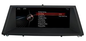 """8.8 """"أندرويد 1280 * 480 سيارة دي في دي GPS ستيريو راديو الملاحة نافي بلاير لسيارات BMW X5 E70 F15 X6 E71 F16 F86 2007-2014"""