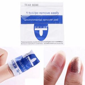 200pcs лак для ногтей резиновое удаление простая защита окружающей среды броня эффективный УФ-гель для снятия лака обертывания Pad Nail Art Cleaner Ac
