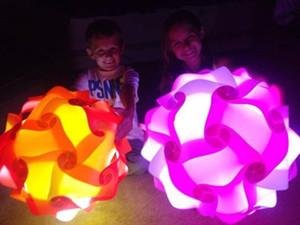 Festival de Primavera 40CM IQ lámpara Decoración para la decoración IQ Luces Pantallas Puzzle Jigsaw calidad Pantallas Con altas