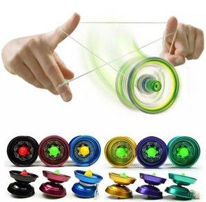 Liga de alumínio fresco projeto de alta velocidade profissional yo-yo rolamento de esferas corda truque Yo-yo crianças magia malabarismo brinquedo