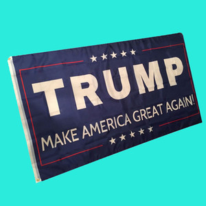 Mosunx Business Hot Selling Drop Shipping Banderas 3 por 5 pies Bandera Trump American Flag Brass Grommets
