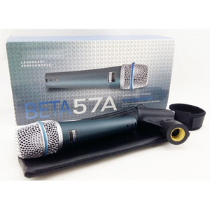 Neues Label !! Hohe Qualität Version Beta 57a Vocal Karaoke Handheld Dynamische Kabelmikrofon Microfone Mike 57 A Mic