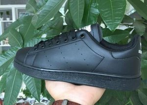 2018 Erkekler ve Kadınlar Için Drop Shipping Stan Ayakkabı Moda Sneakers Rahat Spor Deri Severler Ayakkabı Zapatos Mujer 36-44