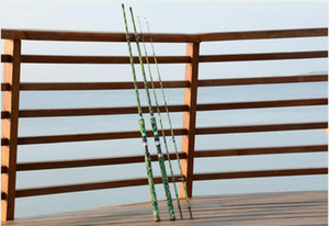 Камуфляж приманки стержень 2,28 метра углерода удочка две секции литья Ева ручка свет и острый