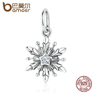 Pandora Style Nuovo Arrivo 925 Sterling Silver Dsny, Freeze Snowflake Bead Charms Fit Bracciali Collane Gioielli PAS363