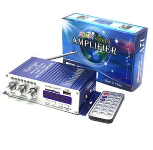 kentiger HY502 12 v Hi-Fi Mini Digital Motocicleta Auto Car Super Bass Estéreo Amplificador de potencia Amplificador de sonido Audio Reproductor de música amplificador automático