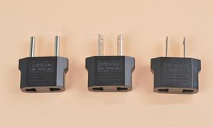 Universal European EU to US USA American Plug Converter Socket in Adapter Adaptor Travel Tomada de Parede Electrical Outlet
