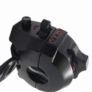 """Universal Handlebar Esquerda ATV Motocicleta Controle de Alta / Baixa Feixe de luz Interruptor de Chifre de Sinal de Luz 7/8 """""""