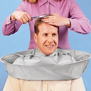 Peluquería Cape Salon Barber Gown Cloth Hair Cutting Cloak Paraguas Peluquería Cape Uso en el hogar Hair Cutting Cloak Delantal Salon Barber 0604114